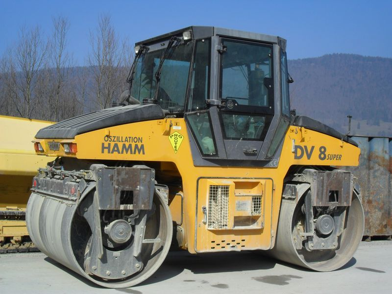 Hamm DV 8 super