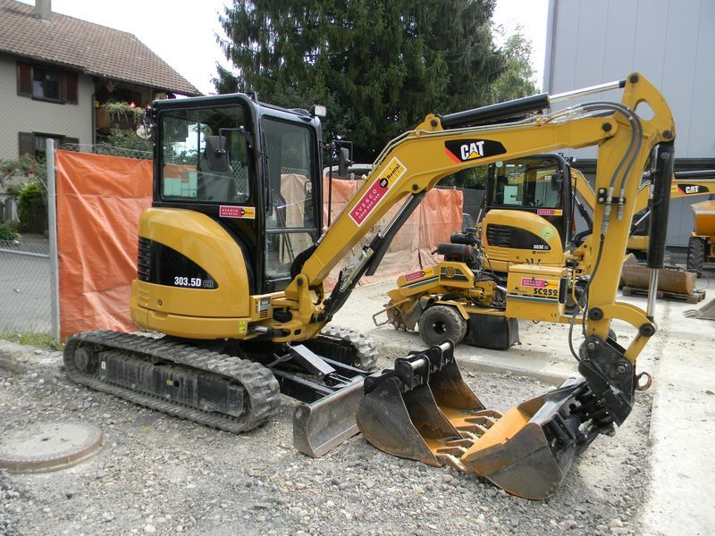 Caterpillar 303.5 D CR