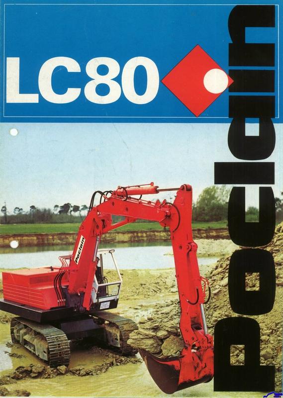 Technique Poclain LC 80