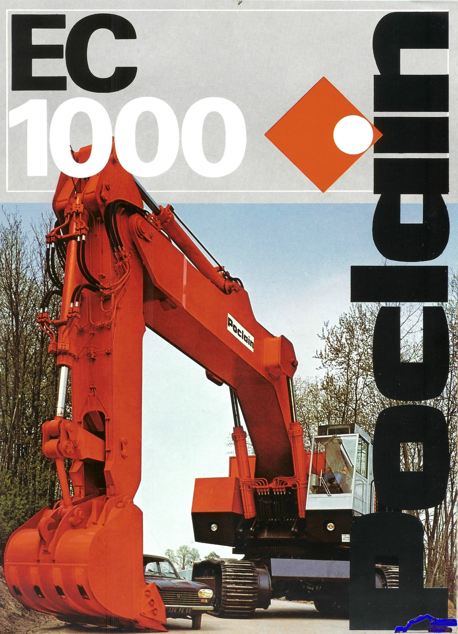 Technique Poclain EC 1000