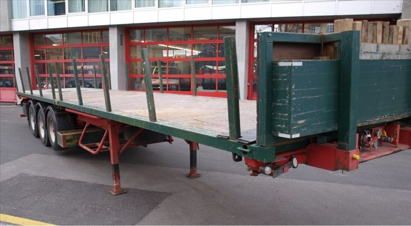 Schmitz containers 3 essieux