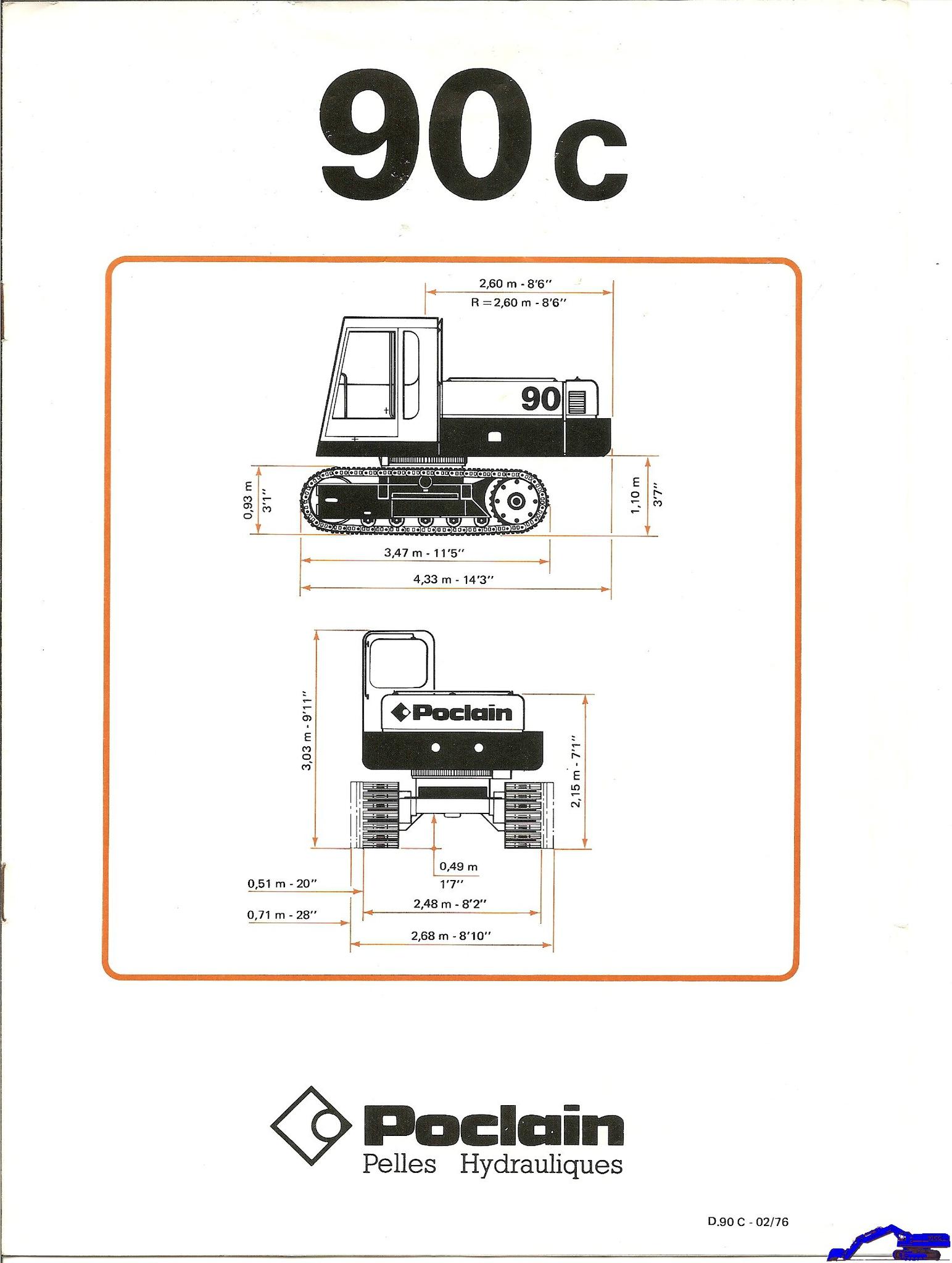 Technique Poclain 90 C