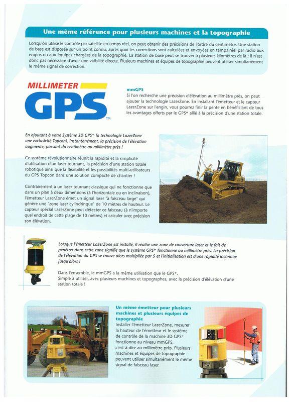 Topcon 3 D MCTM-GPS+