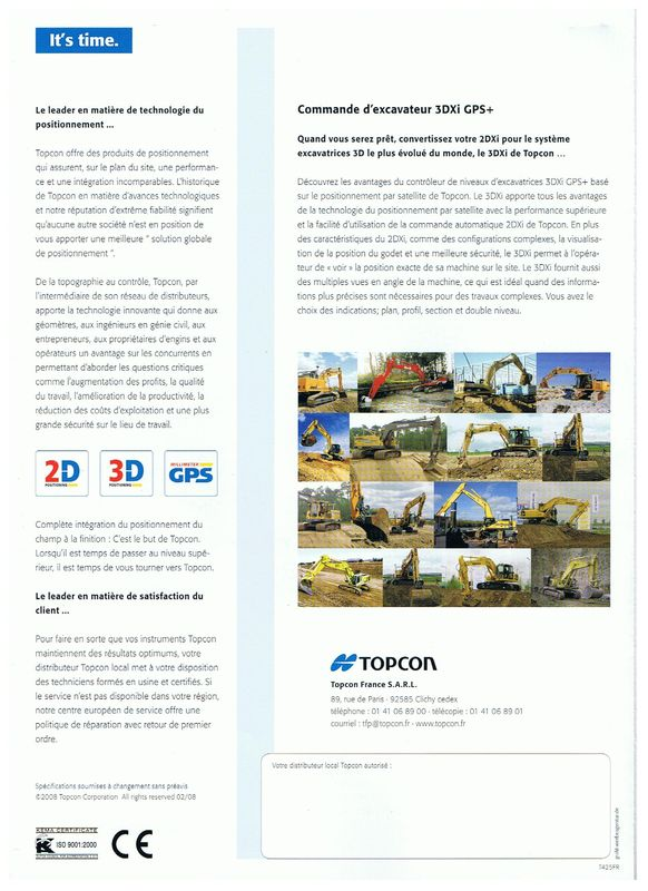 Topcon 3 DXI