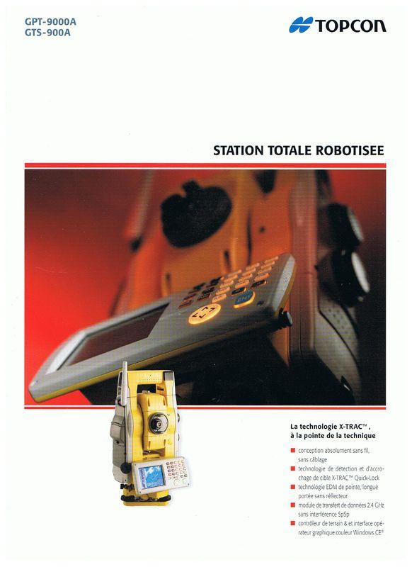 Topcon GPT-9000 A & GTS-900 A