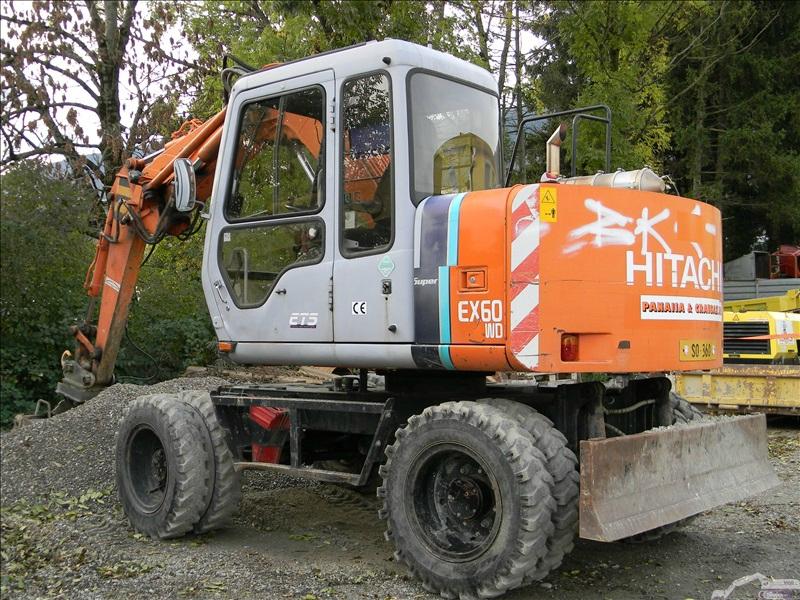 Hitachi EX 60 WD