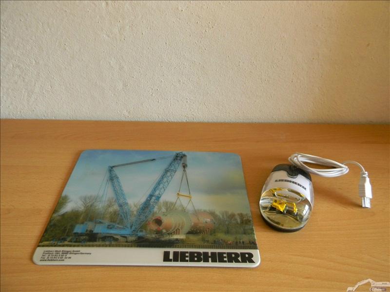 Objets publicitaires Liebherr