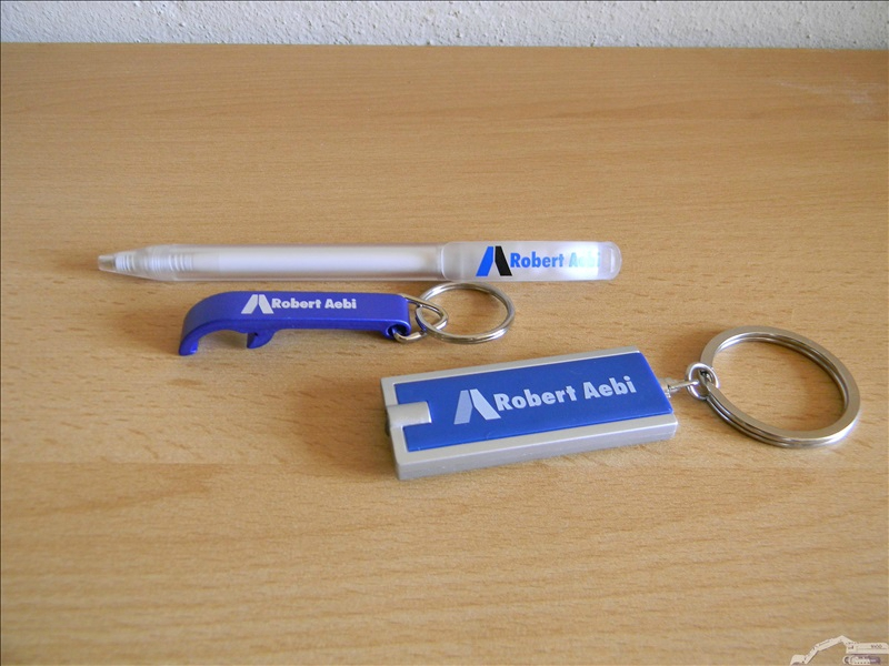 Objets publicitaires Robert Aebi ( Volvo )