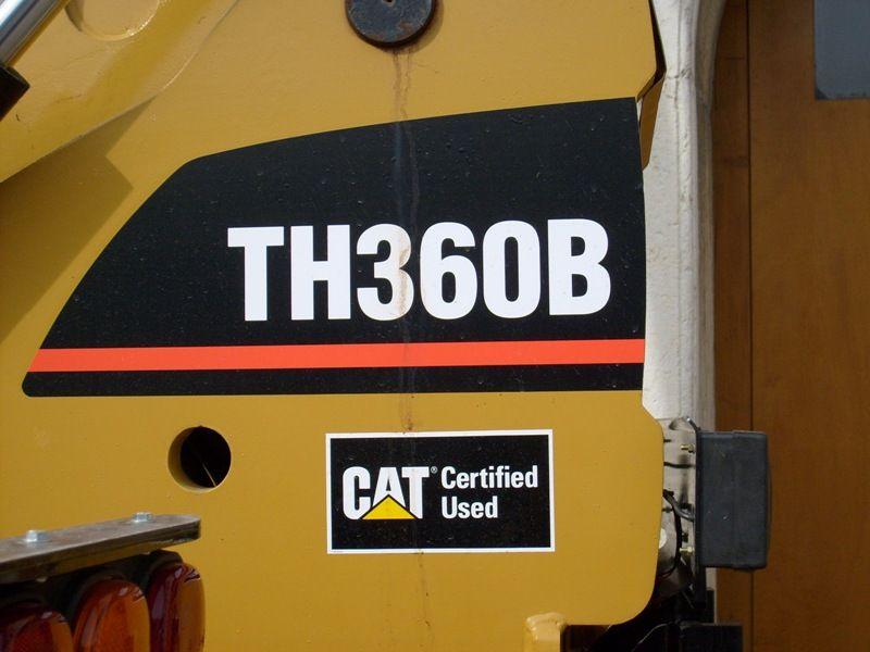 Caterpillar TH 360 B