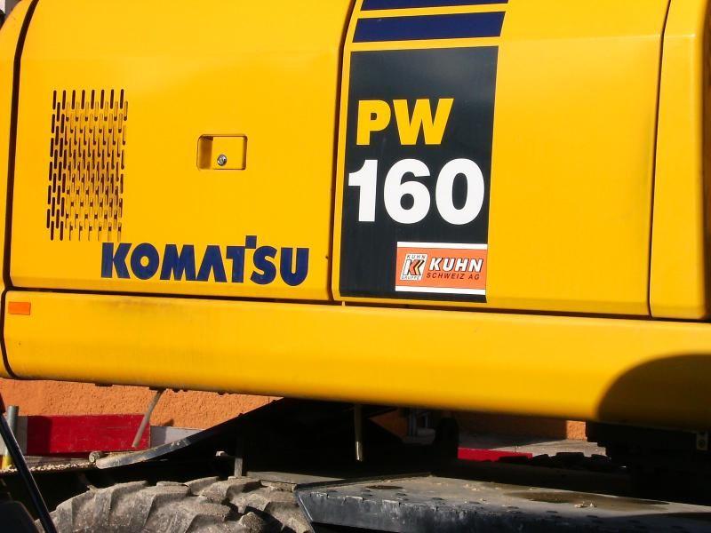 Komatsu PW 160