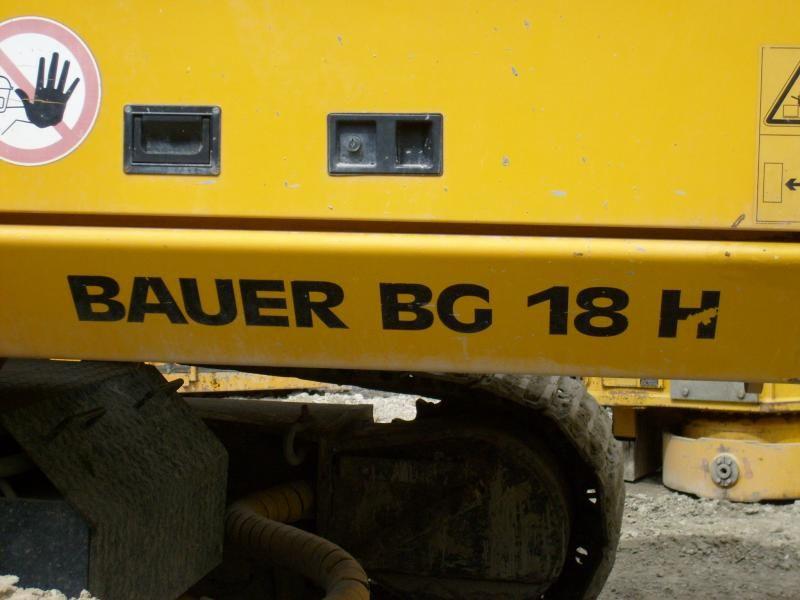 Bauer BG 18 H