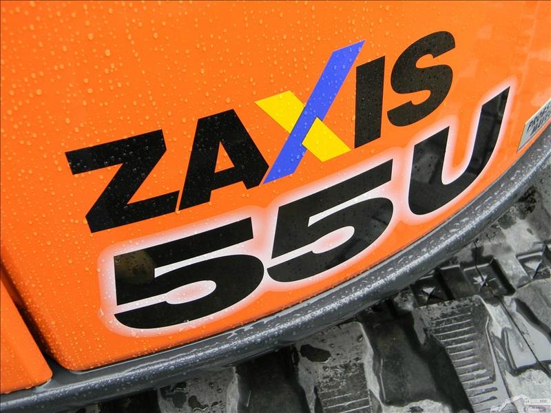 Hitachi ZAXIS 55 U