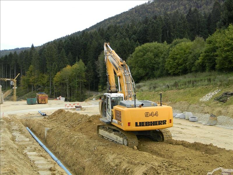 chantier a 16 ponts fin sous montoz le 17 octobre 2013 engins chantiers. Black Bedroom Furniture Sets. Home Design Ideas
