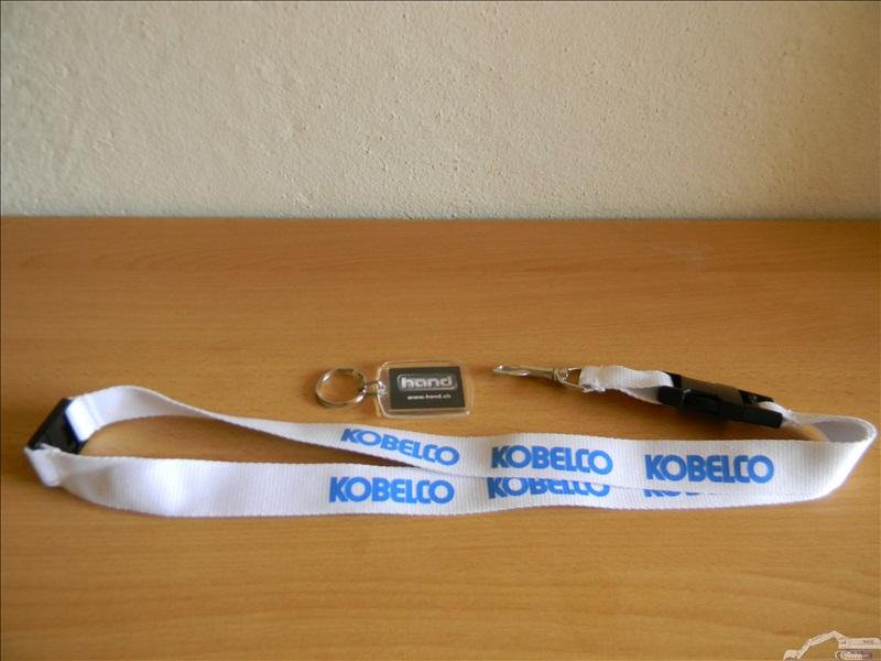 Objets publicitaires Kobelco ( Hand )